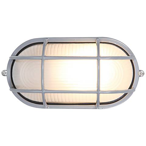 "Nauticus 4 1/4"" High Satin LED Outdoor Wall Light"