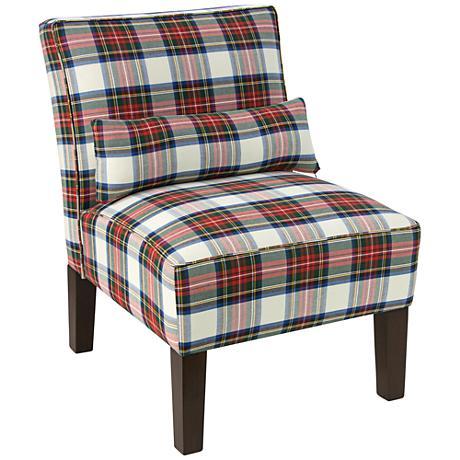Metropol Stewart Dress Multi-Color Slipper Chair