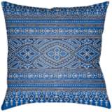 "Surya Britney Blue 18"" Square Decorative Pillow"