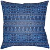 "Surya Piper Blue 18"" Square Decorative Pillow"