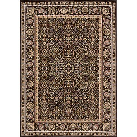 Nourison Antiquities ANT03 Espresso Area Rug