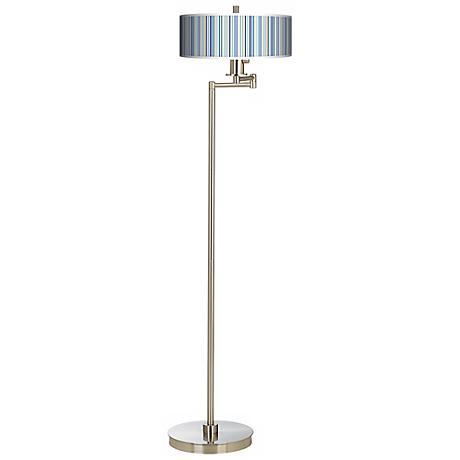 Stacy Garcia Cabana Stripe Energy Efficient Floor Lamp