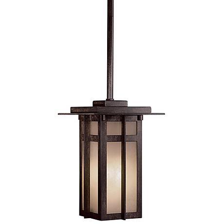 """Delancy Fluorescent 11"""" High Outdoor Hanging Light"""