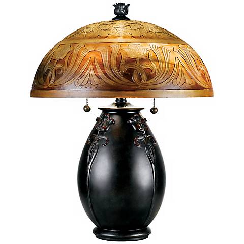 "Quoizel Glenhaven 18"" High Accent Table Lamp"
