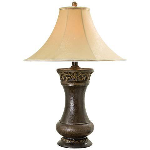 Acoma Bronze Walnut Table Lamp