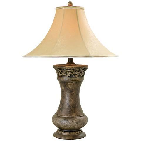 Acoma Transparent Slate Table Lamp