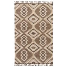 Jaipur Darby RUG132826 8'x11' Brown Wool and Cotton Area Rug