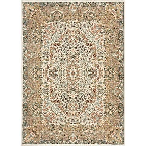 Kathy Ireland Antiquities ANT05 Ivory Area Rug