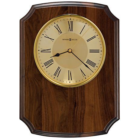 "Howard Miller Honor Time Herald 13 1/2""H Piano Wall Clock"