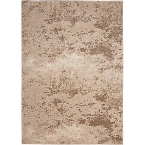Kathy Ireland Illusion KI243 Beige Area Rug