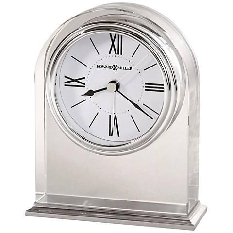 "Howard Miller Optica 5 1/4"" High Optical Crystal Clock"