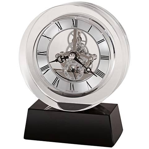 "Howard Miller Fusion 5 3/4"" High Optical Crystal Clock"