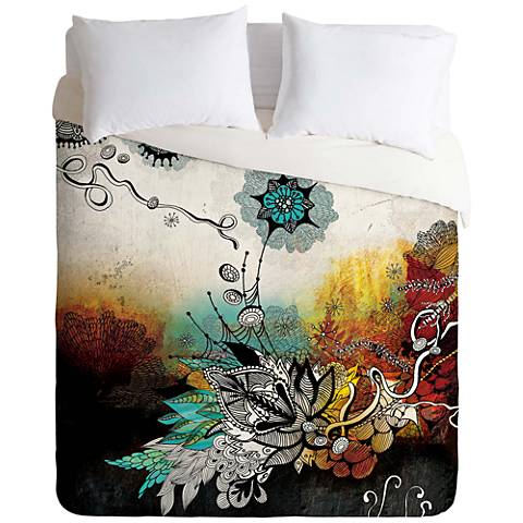Iveta Abolina Frozen Dreams Duvet Cover