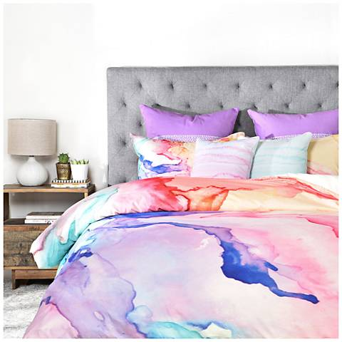 Rosie Brown Color My World Duvet Cover