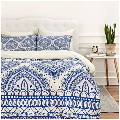 Aimee St Hill Decorative Blue Duvet Cover