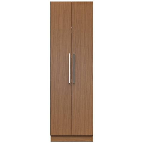 Chelsea 2.0 Maple Cream Wood 2-Door Closet