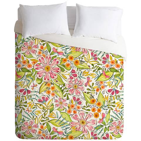 Cori Dantini Blossoms in Bloom Duvet Cover
