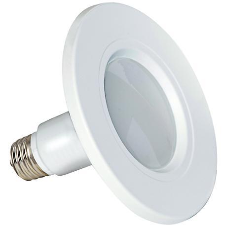"""Satco White 4"""" 8.5 Watt LED Retrofit Recessed Trim 2-Pack"""