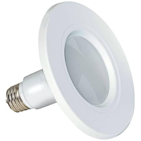 """Satco White 5/6"""" 12 Watt LED Retrofit Recessed Trim 2-Pack"""