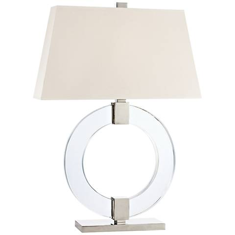 Hudson Valley Roslyn Polished Nickel Table Lamp