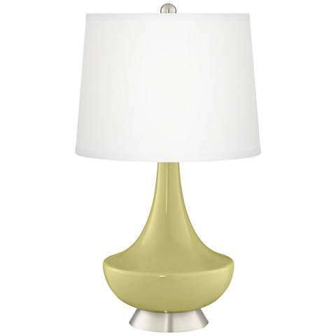 Linden Green Gillan Glass Table Lamp