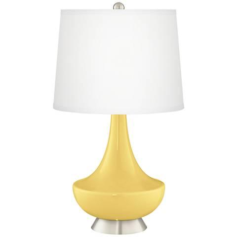 Daffodil Gillan Glass Table Lamp