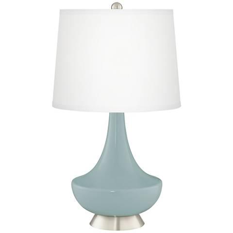 Aqua-Sphere Gillan Glass Table Lamp