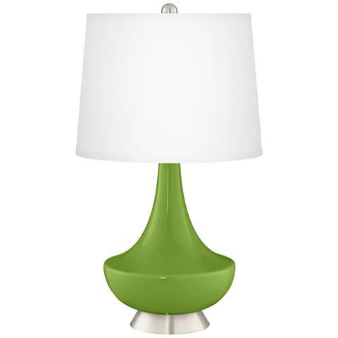 Gecko Gillan Glass Table Lamp