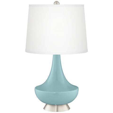 Raindrop Gillan Glass Table Lamp