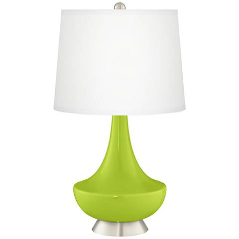 Tender Shoots Gillan Glass Table Lamp
