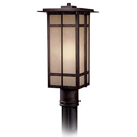 """Delancy 17 1/2"""" High Outdoor Post Light"""