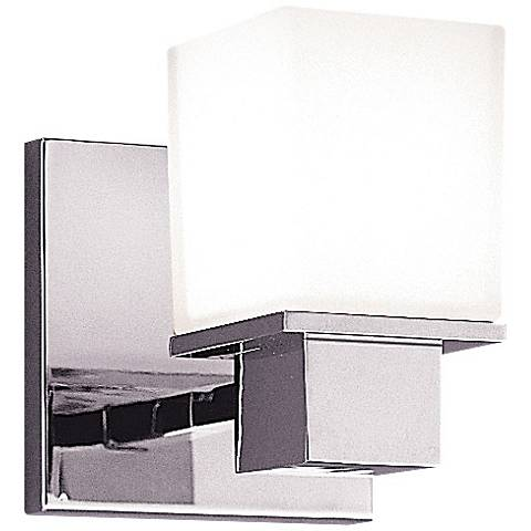 """Hudson Valley Milford 5 3/4"""" High Chrome Wall Sconce"""