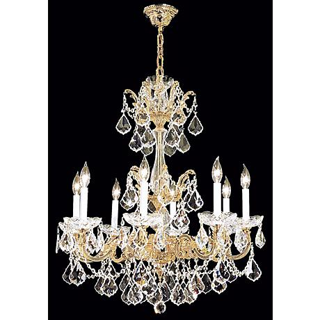 James R. Moder Madrid Collection Eight Light Chandelier