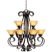 San Dimas Collection Twelve Light Chandelier