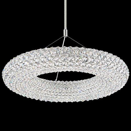 "Schonbek Cassini 25"" Wide Crystal Pendant Light"