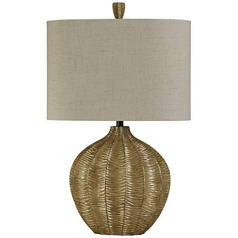 Tanzania Georgian Silver Table Lamp