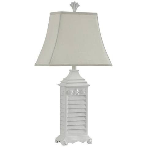 Pacific Grove White of Monterey Table Lamp