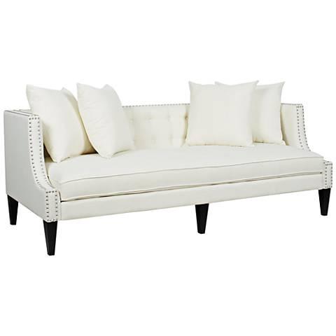 Serta Rta Martinique 73 Quot Wide Kona Gray Fabric Sofa