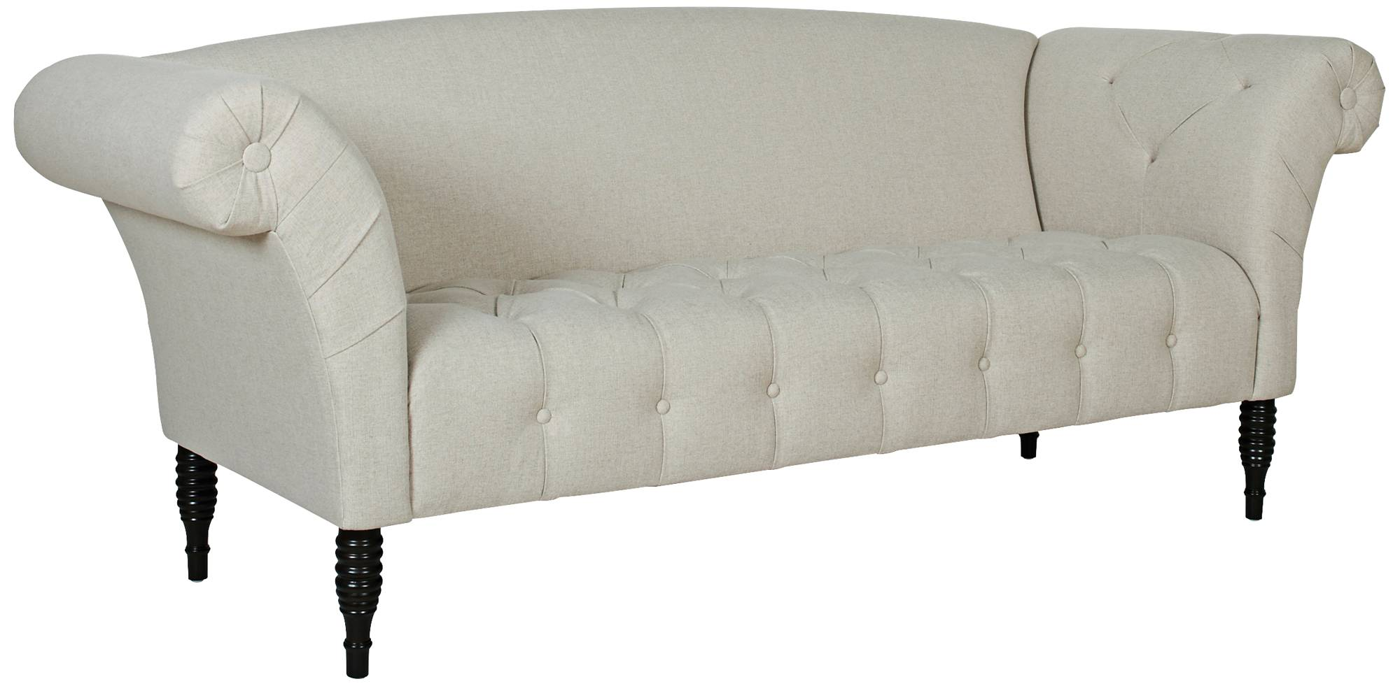 Response Sunny 89 Quot Wide Fabric Tufted Sofa 13j25