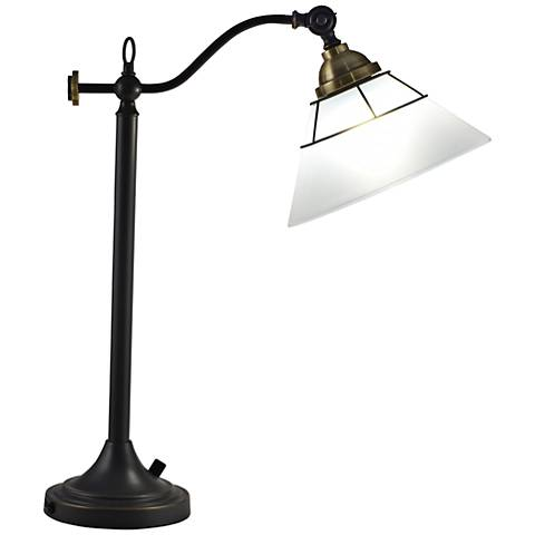 Dale Tiffany Laurel LED Oil Rubbed Bronze Table Lamp