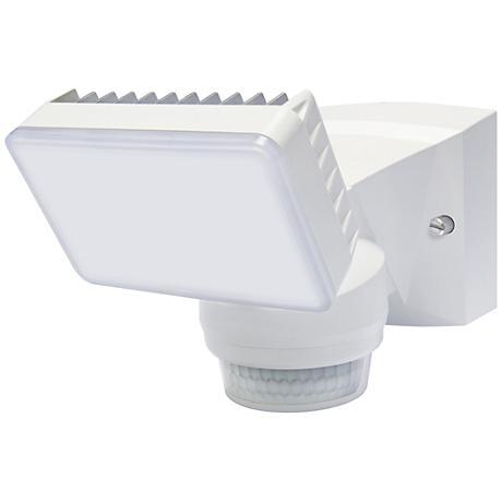 "Advanced 8"" High White 180-Degree LED Security Flood Light"