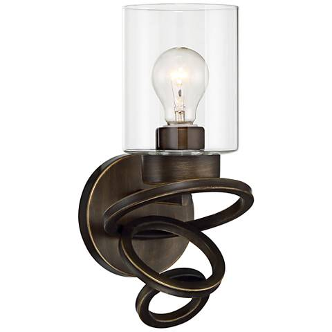 "Dalen 13"" High Oil-Rubbed Bronze 1-Light Wall Sconce"