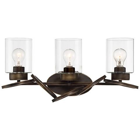 "Dalen 23 1/2"" Wide Oil-Rubbed Bronze 3-Light Bath light"