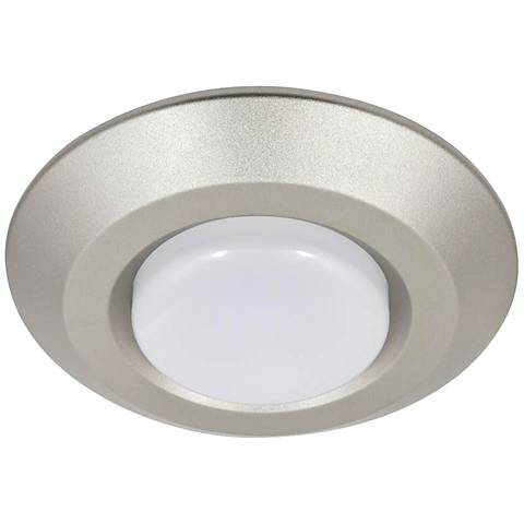"4"" Nickel 8 Watt LED Surface Mount or Retrofit Trim"