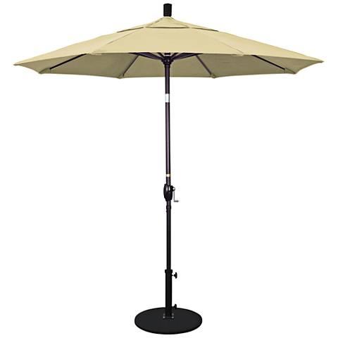 Pacific Trails 7 1/2-Foot Antique Beige Round Market Umbrella