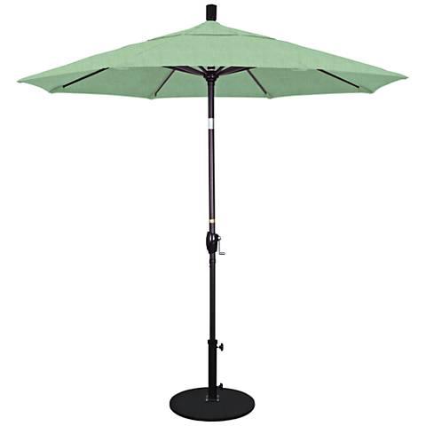 Pacific Trails 7 1/2-Foot Spa Round Market Umbrella