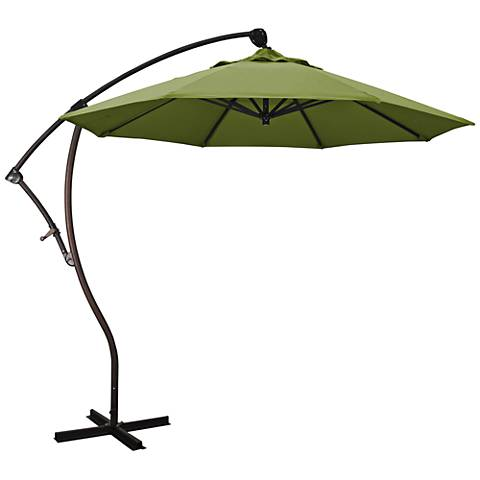 Bayside 9 1/4-Foot Palm Pacifica Cantilever Market Umbrella