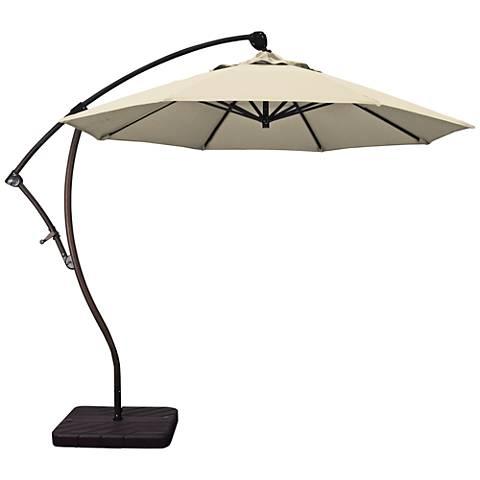 Bayside 9 1/4-Foot Beige Pacifica Cantilever Market Umbrella