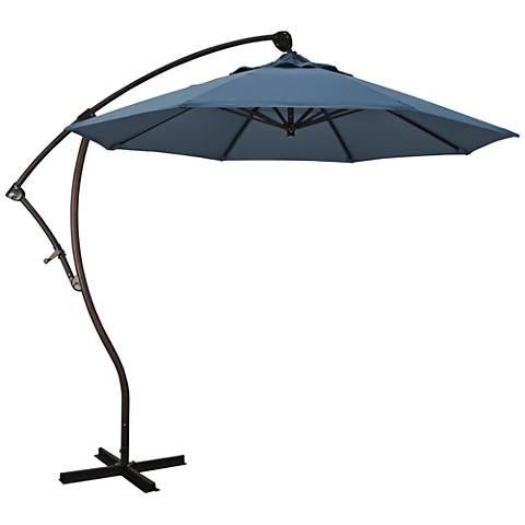 Bayside 9 1/4-Foot Saphire Cantilever Market Umbrella
