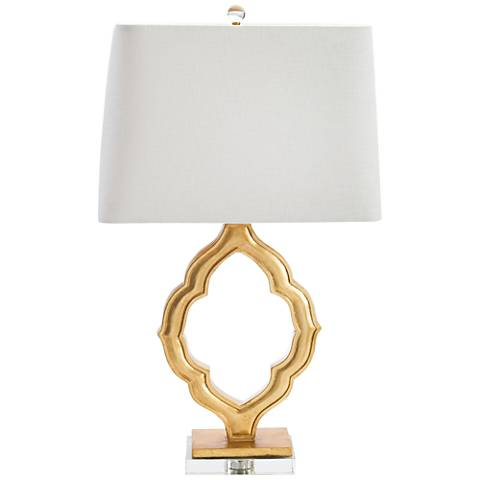 Couture Marrakech Gold Leaf Table Lamp